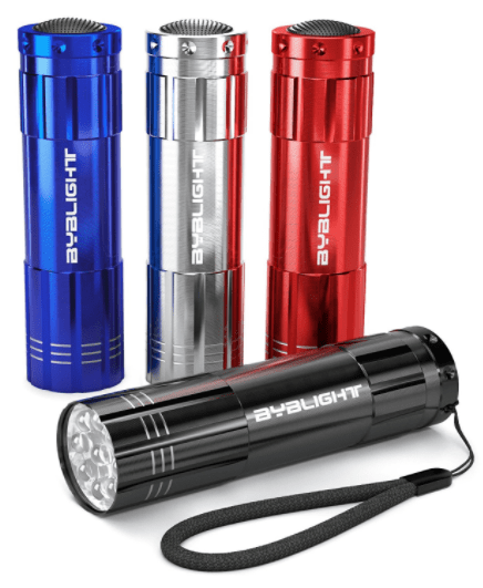 best flashlights for backyard camping