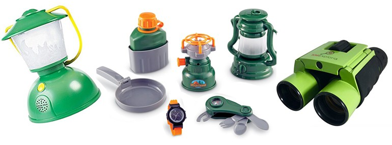 backyard camping kid sets