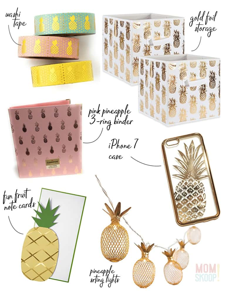 decor for pineapple lovers