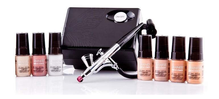 airbrush makeup dry skin