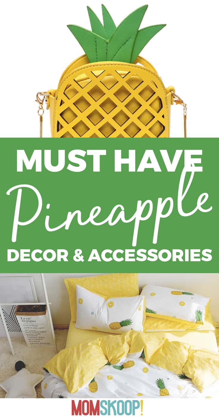 must have pineapple decor and accessories list
