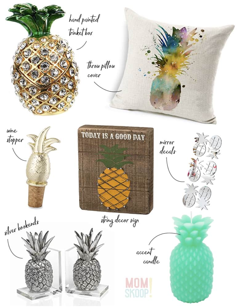 pineapple decor 2017