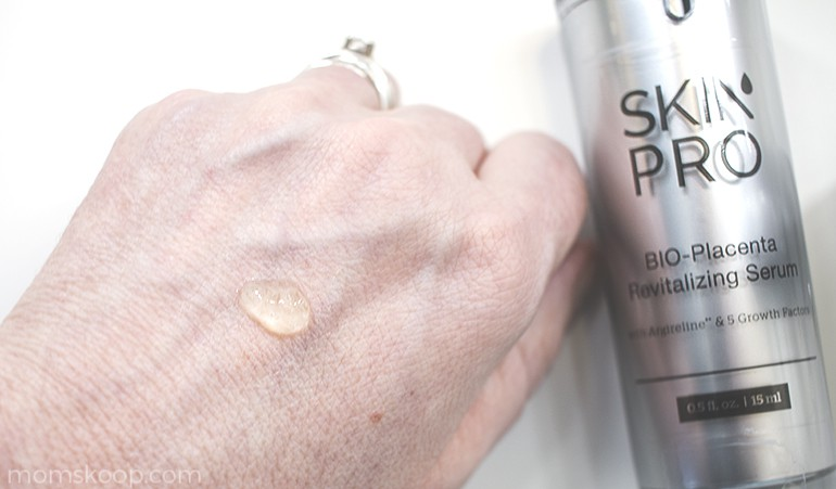 SkinPro BIO-Placenta Revitalizing Serum before and after