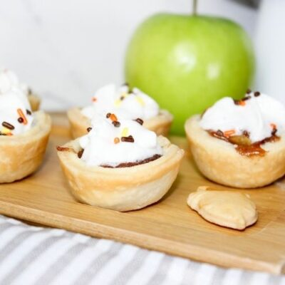 Small Apple Pie Bites