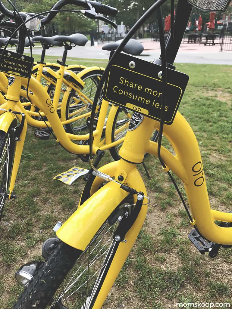 OFO STATION FREE BIKE SHARING 1
