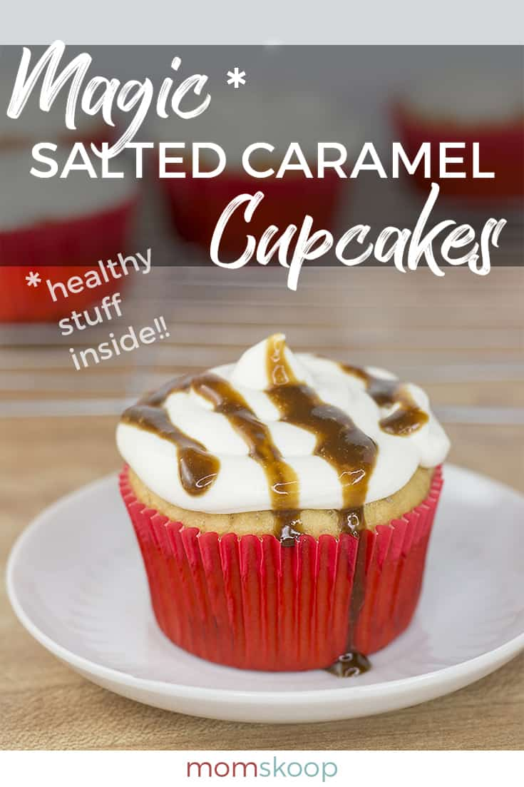 magic salted caramel cupcakes no flour low sugar