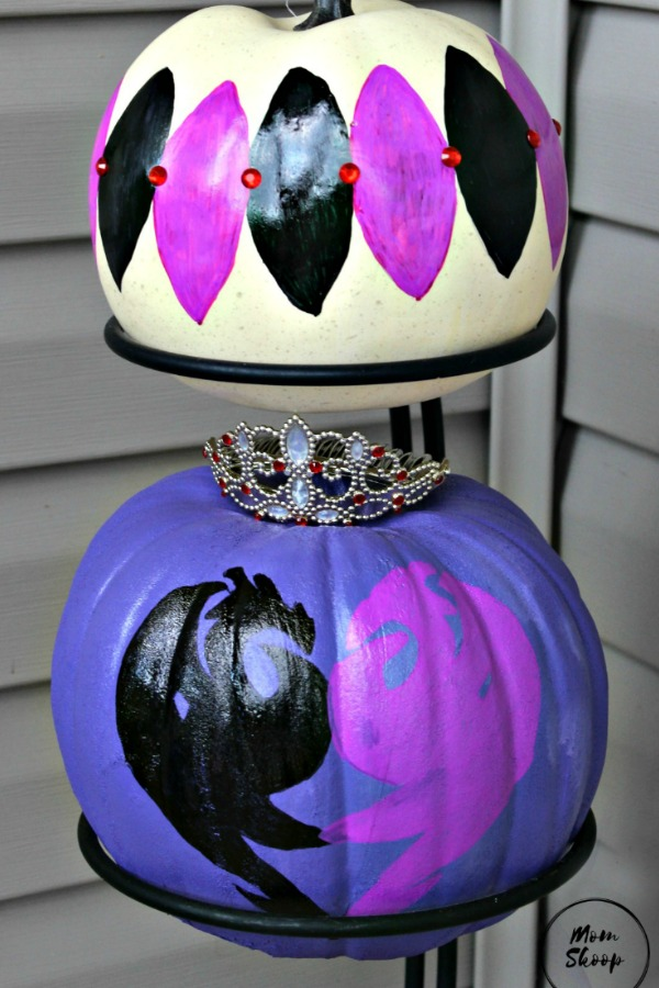 Disney Descendants Inspired Pumpkins