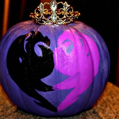 Disney Descendants Inspired Pumpkins