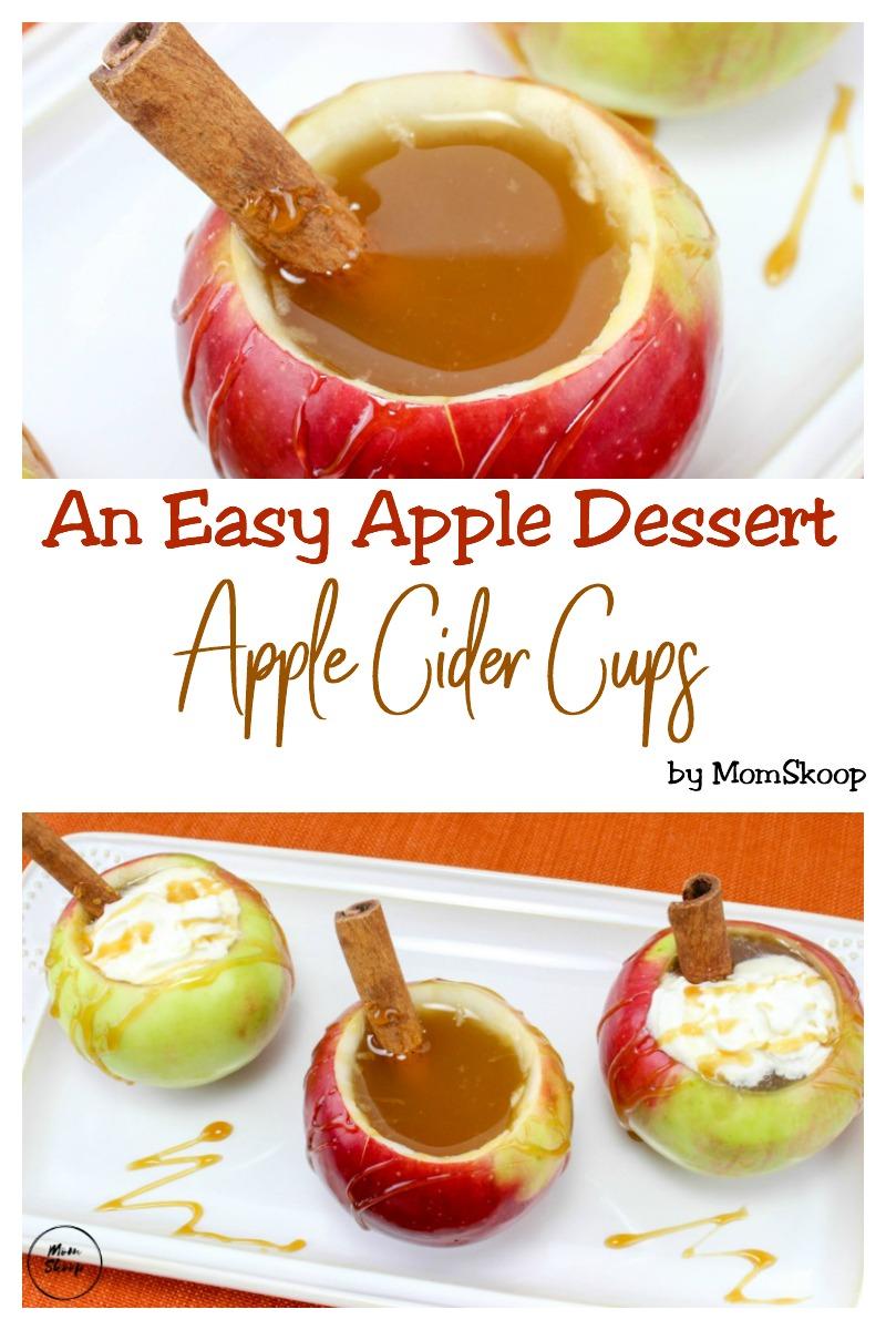 easy apple dessert