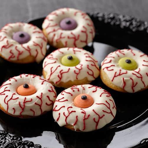 creepy eye donuts