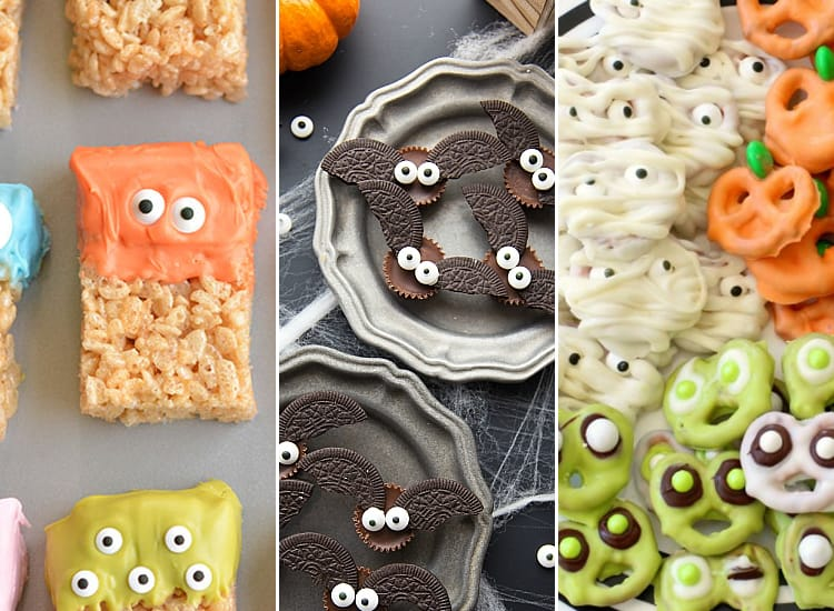 easy and fun halloween treats to make