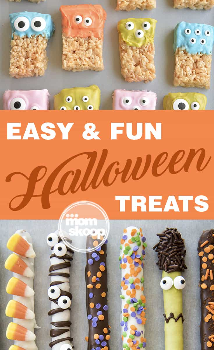 easy and fun halloween treats