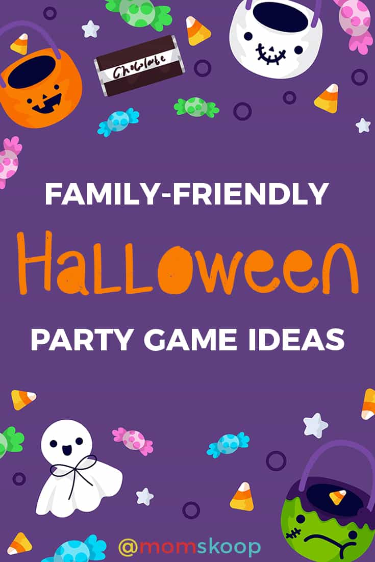 family friendly halloween party game ideas