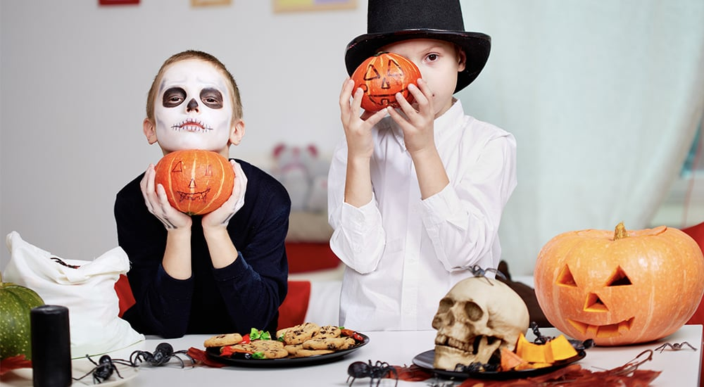 family friendly halloween party games