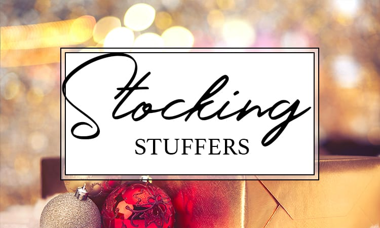 2018 HOLIDAY GIFT GUIDE stocking stuffers
