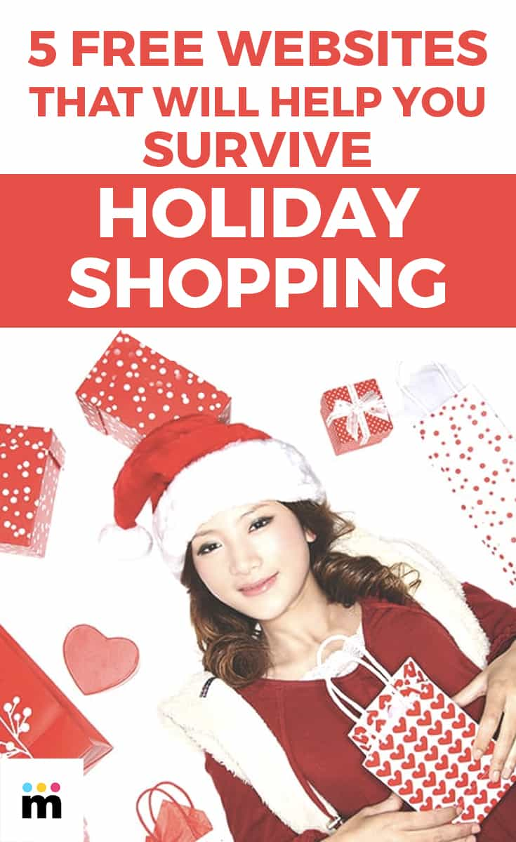 5 FREE WEBSITES THAT WILL HELP YOU SURVIVE HOLIDAY SHOPPING