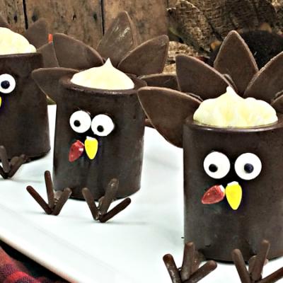Chocolate Turkey Cups – A Fun Thanksgiving Dessert