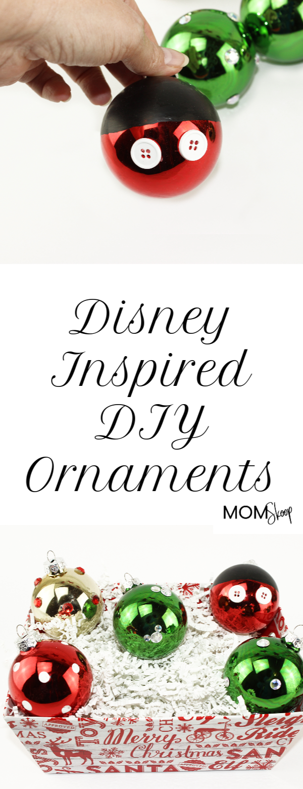 Disney Inspired DIY Ornaments