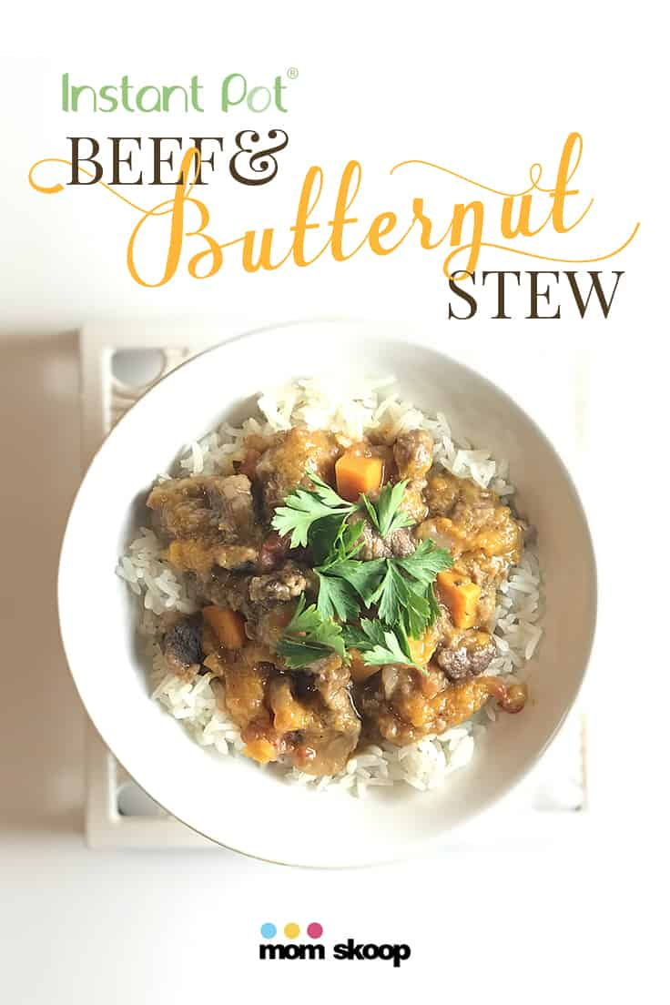Instant Pot Beef and Butternut Squash Stew