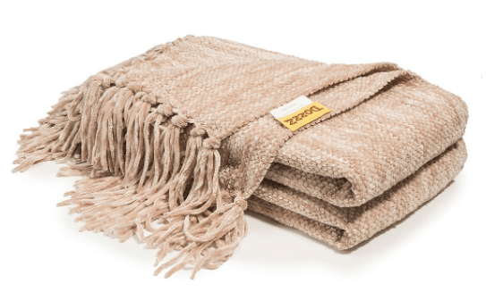Thick Chenille Throw Blanket