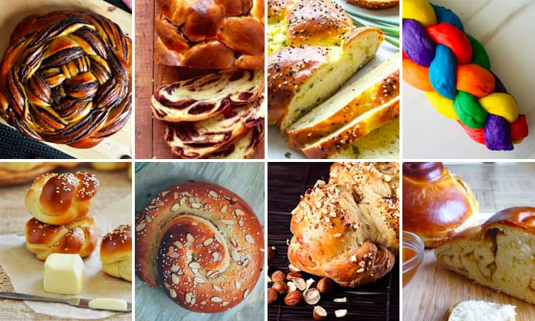 8 Amazing Challah Recipes for Hanukkah momskoop