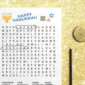 Printable Hanukkah Activity Pack for Kids