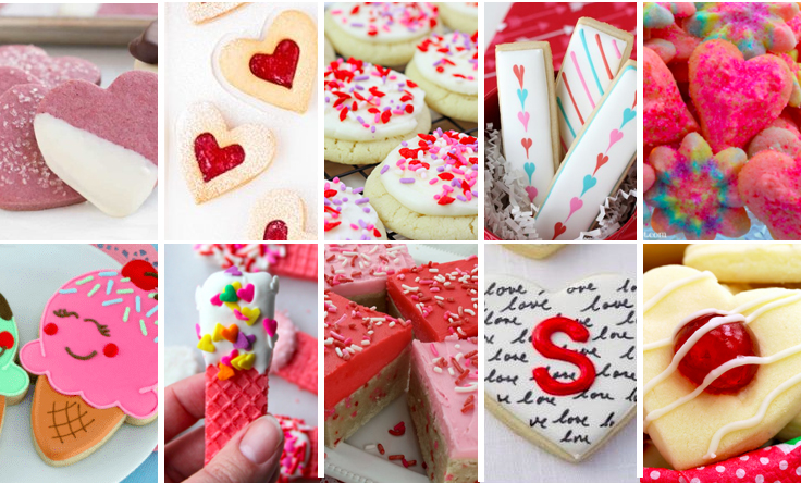 20 Valentines Day Cookies 2