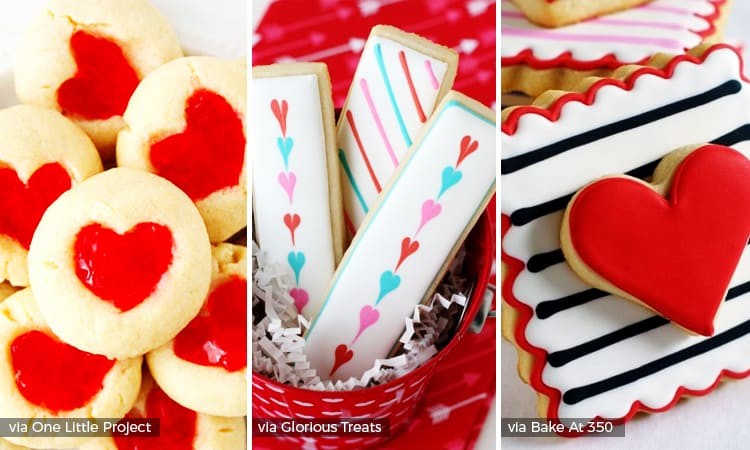 20 Valentines Day Cookies