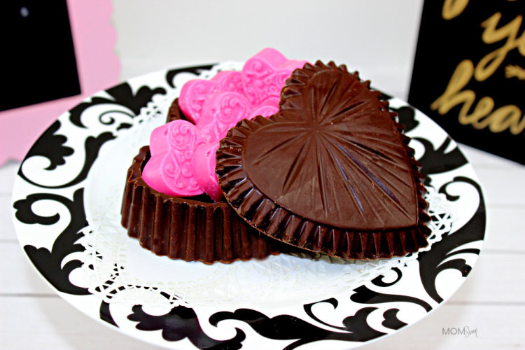 Chocolate Heart Candy Box