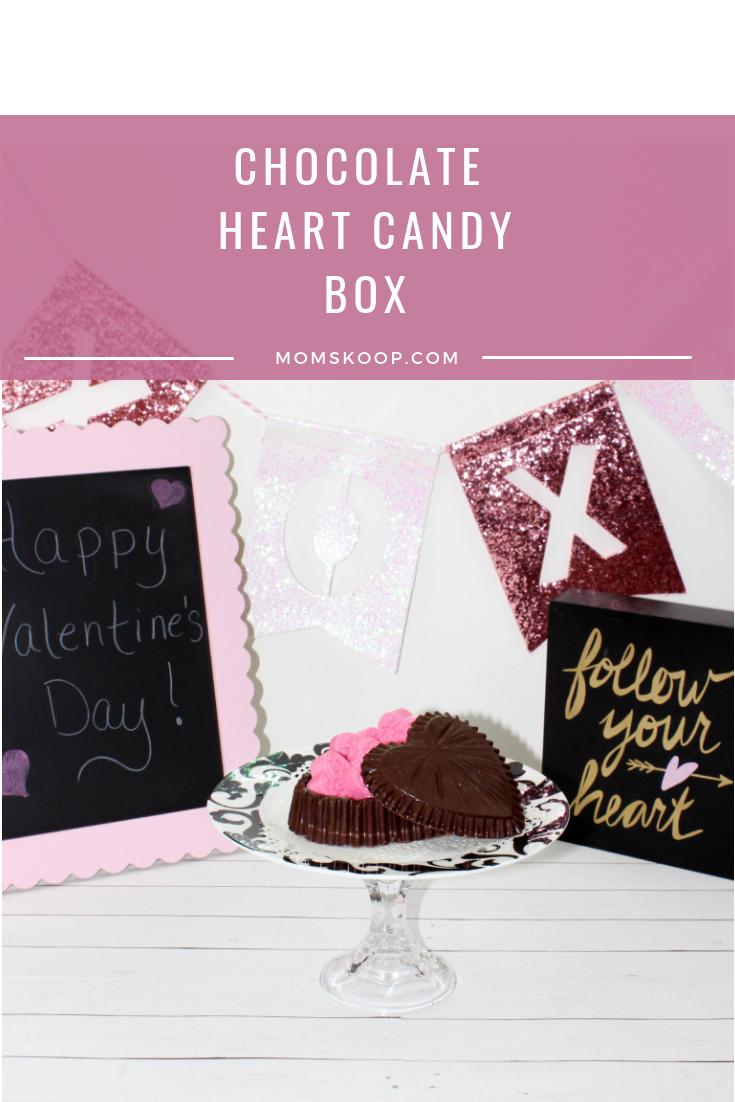Chocolate Heart Candy Box