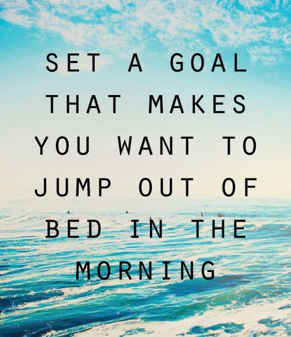 goal quotes morning agenda