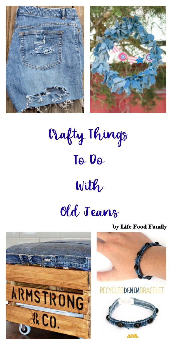crafty things to do with old jeans