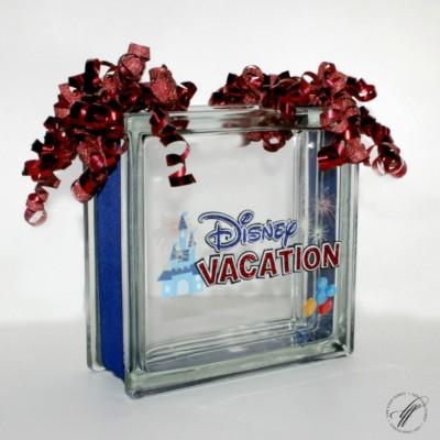 Disney DIY Savings Glass Block – EASY DIY!
