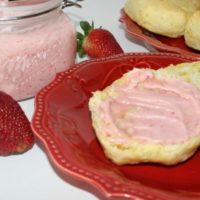Homemade Strawberry Butter - So Simple to Make!