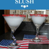 PATRIOTIC SLUSH - A RED, WHITE, AND BLUE TREAT