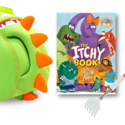 The Itchy Book Summer Prize Pack Giveaway plus a FREE Summer Reading Log!