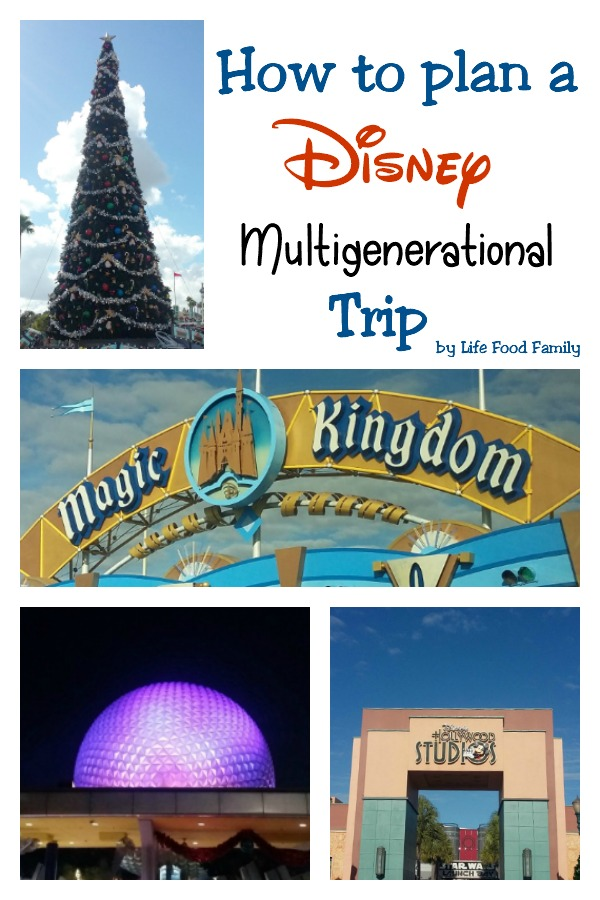 Disney Multigenerational Family