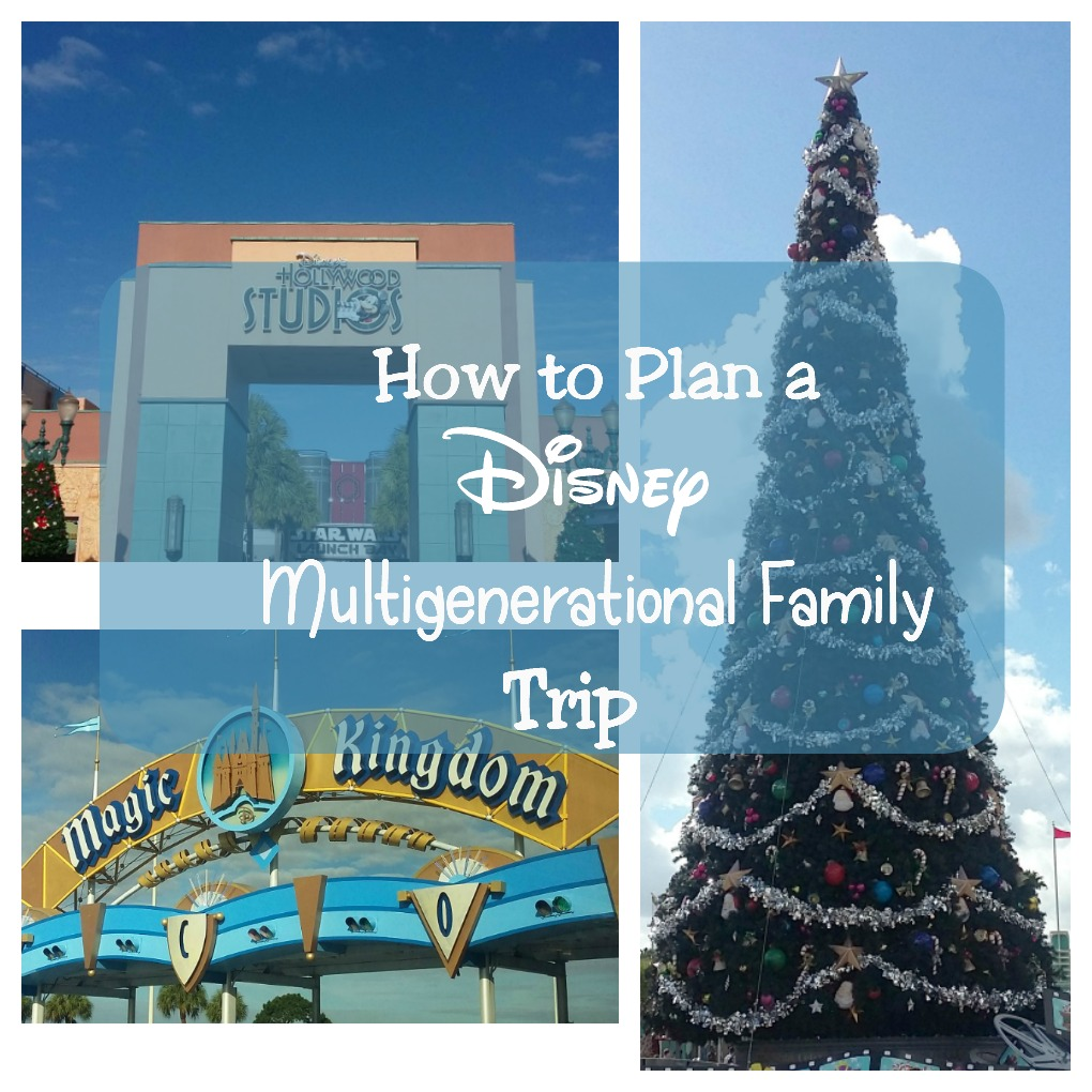 disney multigenerational family trip