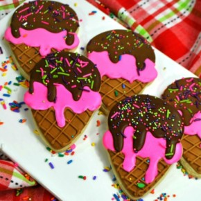 Ice Cream Sugar Cookies – So Easy to Make