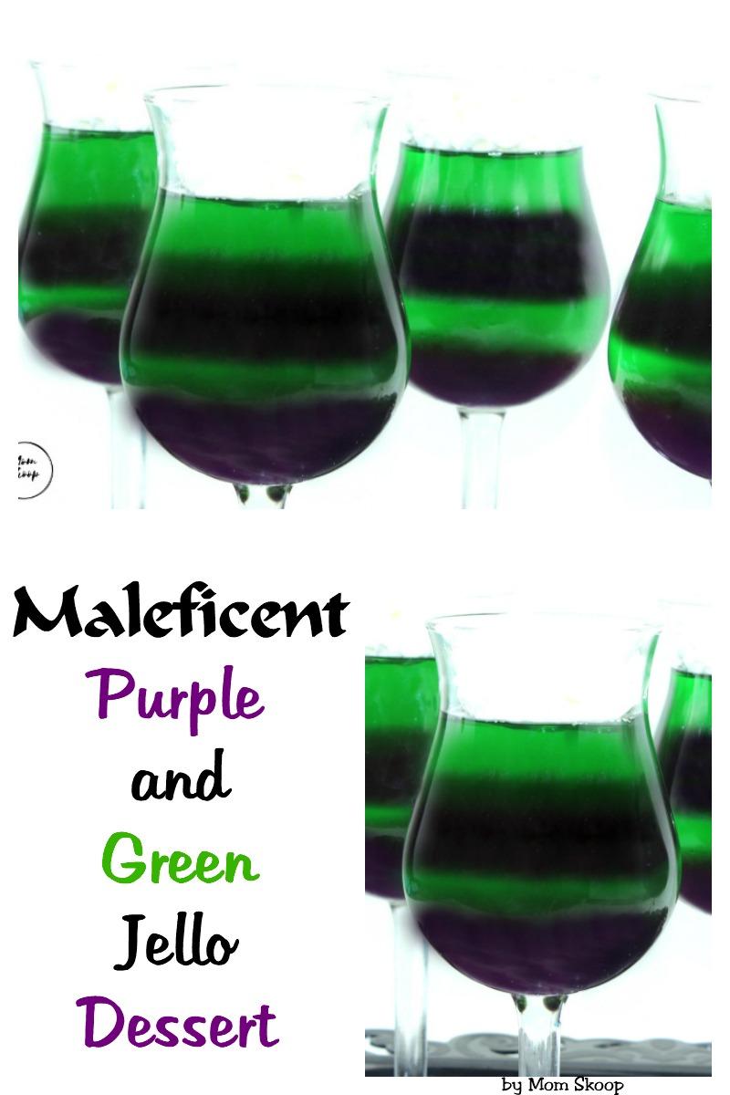 Maleficent Purple Green Dessert
