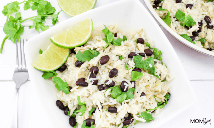 Cilantro Lime Chicken and rice