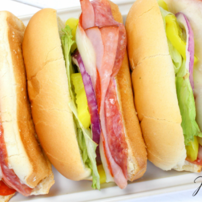 Hot Italian Subs – Perfect for Game Day!