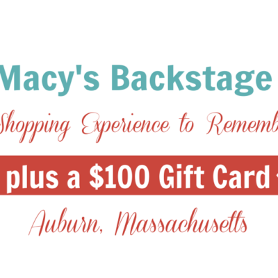 Choices and Macy's Backstage in Auburn, MA – $100 Gift Card Giveaway!