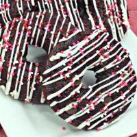 Scrumptious Red Velvet Donuts