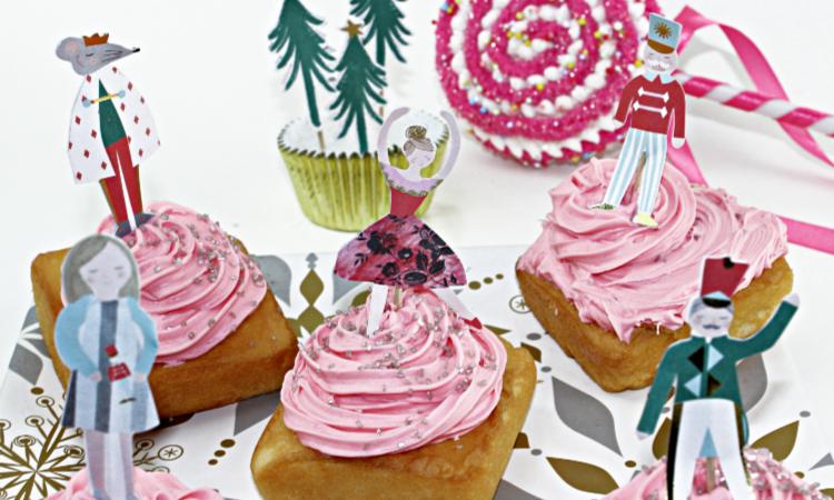 The Nutcracker Mini Dessert Cakes