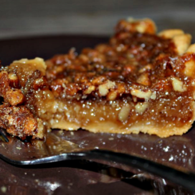 A Pecan Pie Recipe that is Semi Homemade and AMAZING!
