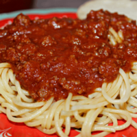 Spaghetti Bolognese - Semi Homemade at it's Best!