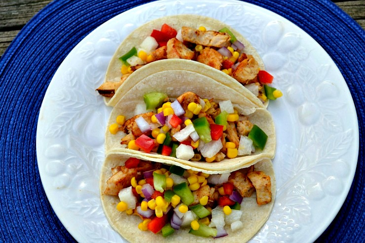 Authentic Spicy Chicken Tacos
