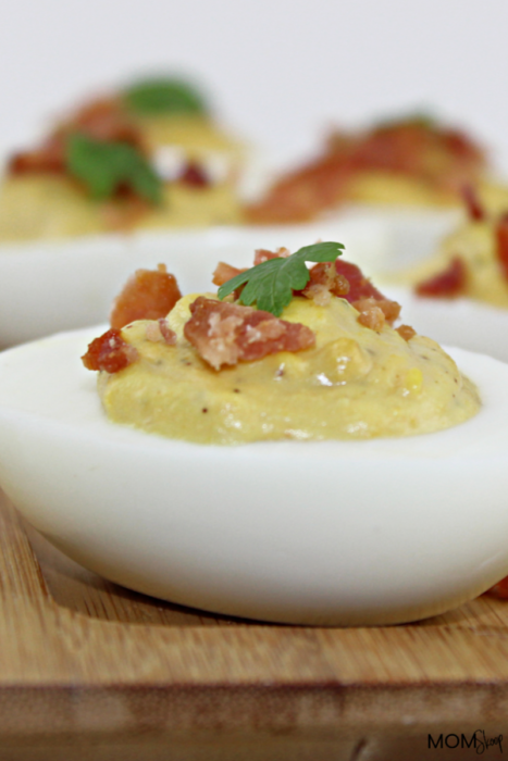 Bacon Jalapeno Deviled Eggs