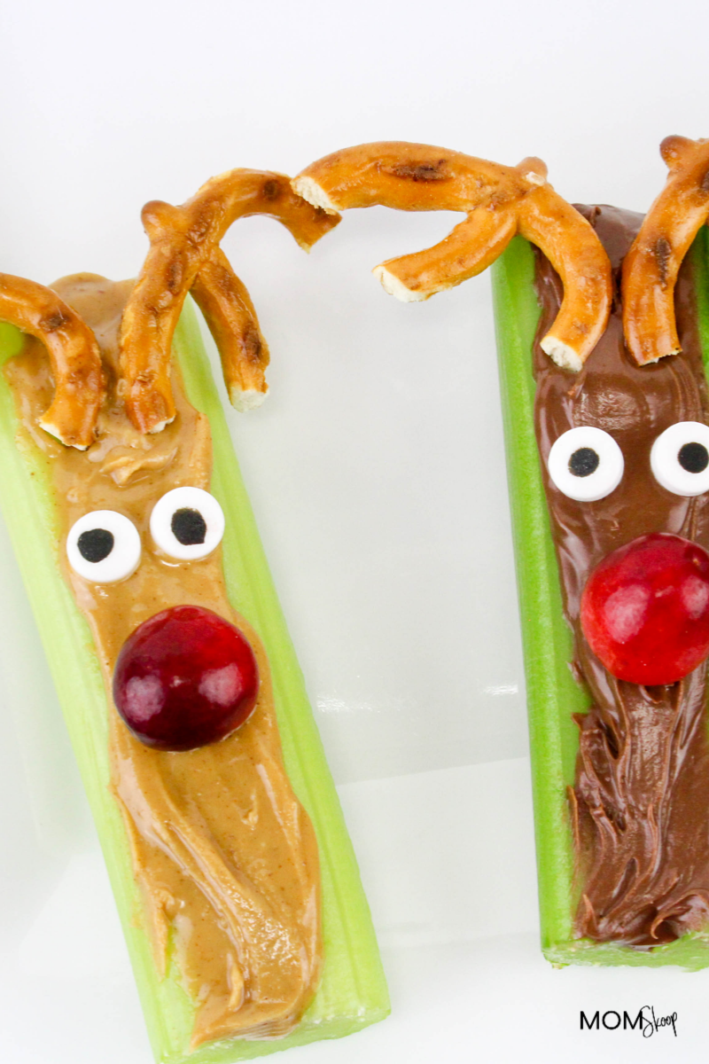 Celery and Peanut Butter Sticks